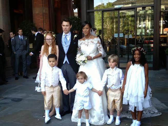 Uvie Ibru and Maxwell Peile's wedding loveweddingsng1