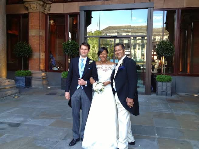 Uvie Ibru and Maxwell Peile's wedding loveweddingsng3