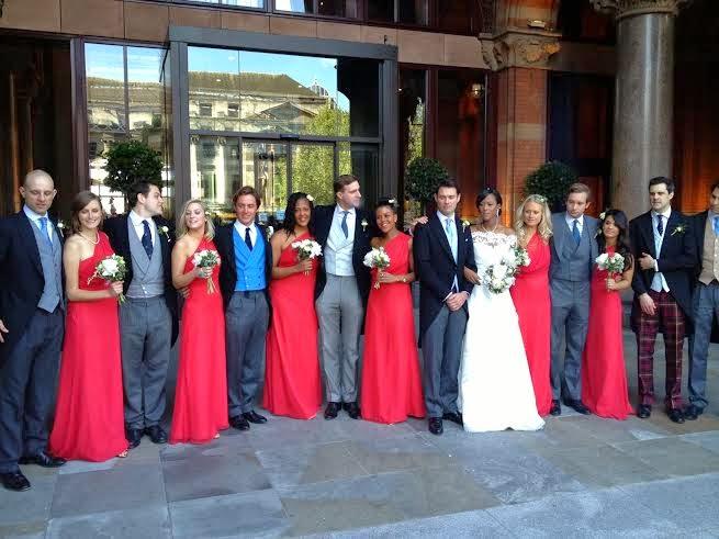 Uvie Ibru and Maxwell Peile's wedding loveweddingsng4