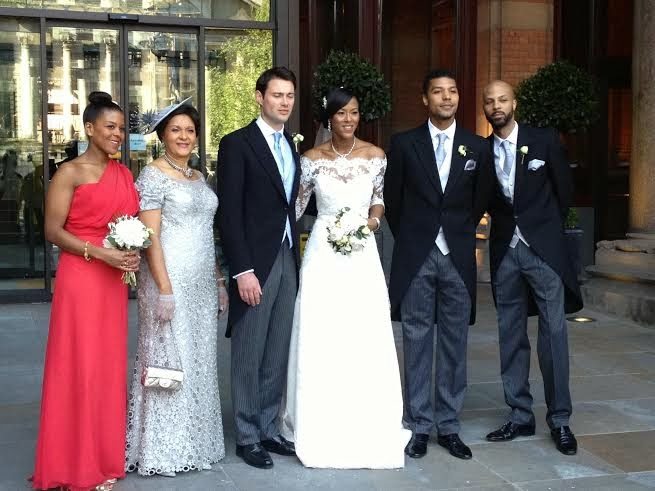 Uvie Ibru and Maxwell Peile's wedding loveweddingsng5