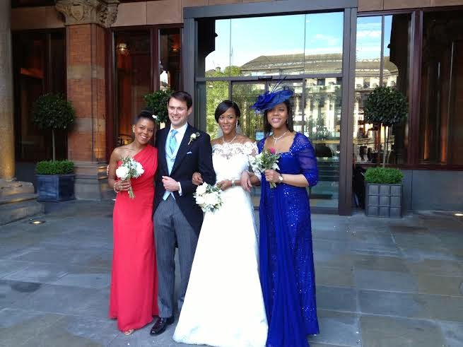 Uvie Ibru and Maxwell Peile's wedding loveweddingsng6