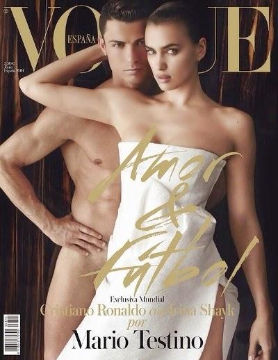 Vogue Spain 2014 - Cristiano Ronaldo and girlfriend