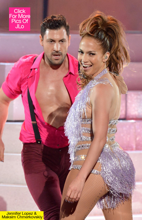 Jennifer Lopez & her rumored new love - Maksim Chmerkovskiy