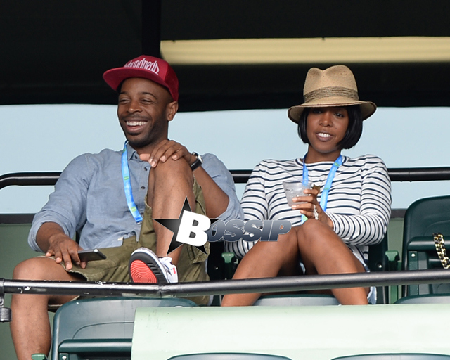 Celebs at the Opening Match at Sony Open 2014