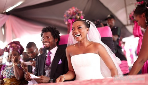 Basketmouth Bright Okpocha Wife - Elsie Uzoma Wedding Loveweddingsng