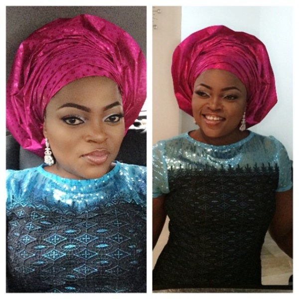Dr Sid Simi Osomo Traditional Wedding Loveweddingsng - Funke Akindele1