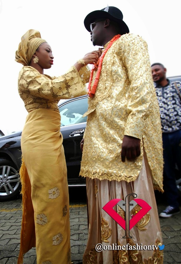 Dr Sid Simi Osomo Traditional Wedding Loveweddingsng