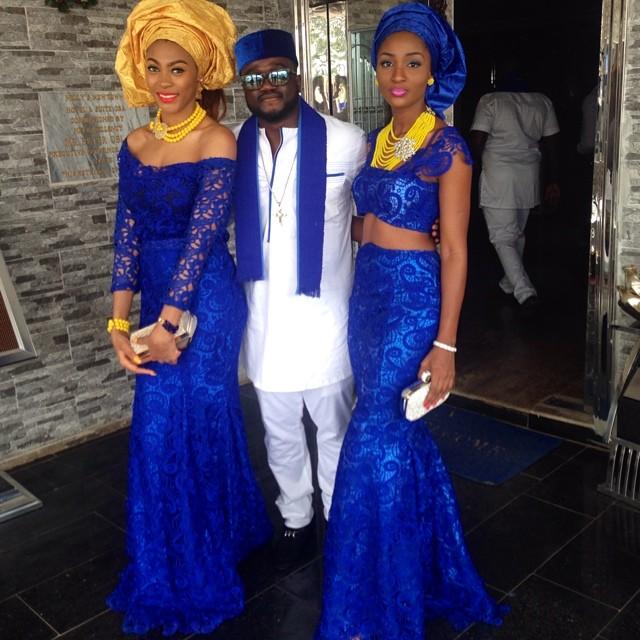 Jude Okoye Ifeoma Umeokeke Aso Ebi Loveweddingsng