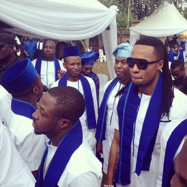 Jude Okoye Ifeoma Umeokeke Traditional Wedding Loveweddingsng - Flavour