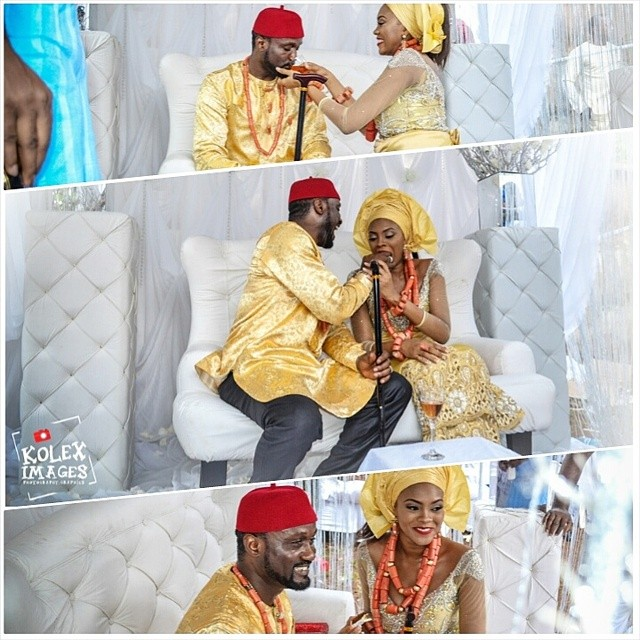Jude Okoye Ifeoma Umeokeke Traditional Wedding Loveweddingsng3