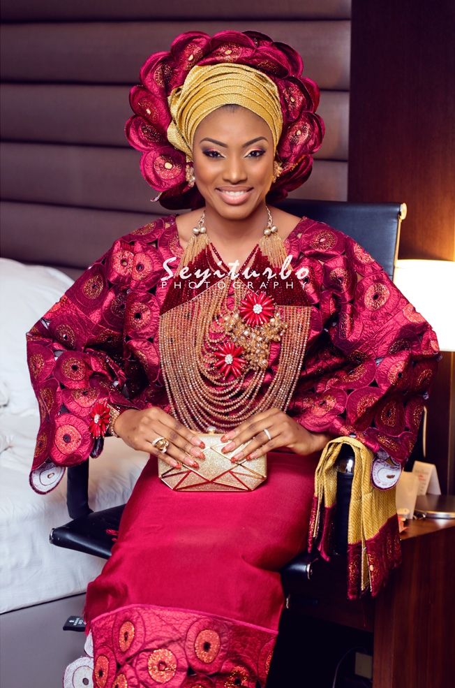 Loveweddingsng Bimbo Doyle weds Kelechi3
