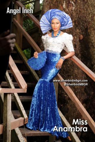 MBGN 2014 Miss Anambra - Angel Ineh Nigerian Traditional Outfit Loveweddingsng