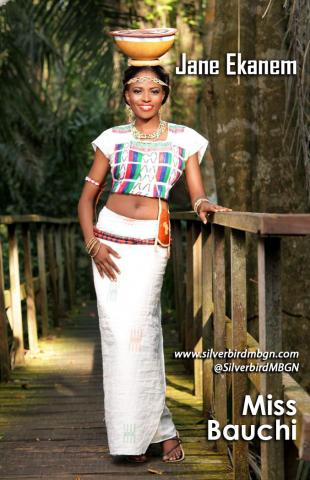MBGN 2014 Miss Bauchi - Jane Ekanem Nigerian Traditional Outfit Loveweddingsng