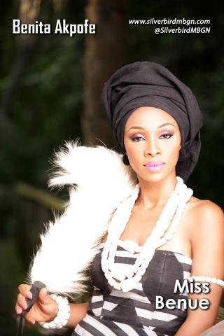 MBGN 2014 Miss Benue - Benita Akpofe Nigerian Traditional Outfit Loveweddingsng