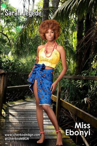 MBGN 2014 Miss Ebonyi - Sarah Jegede Nigerian Traditional Outfit Loveweddingsng