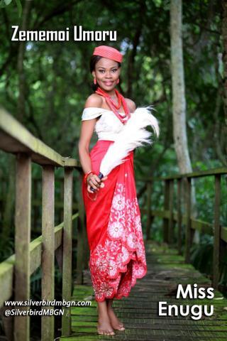 MBGN 2014 Miss Enugu - Zememoi Umoru Nigerian Traditional Outfit Loveweddingsng