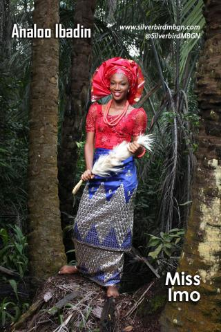 MBGN 2014 Miss Imo - Analoo Ibadin Nigerian Traditional Outfit Loveweddingsng