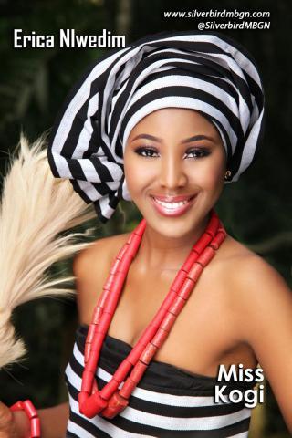 MBGN 2014 Miss Kogi - Erica Nlwedim Nigerian Traditional Outfit Loveweddingsng