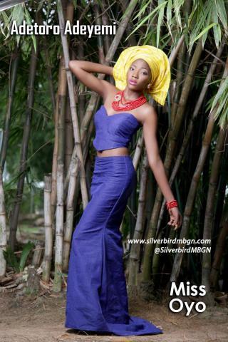 MBGN 2014 Miss Oyo - Adetoro Adeyemi Nigerian Traditional Outfit Loveweddingsng
