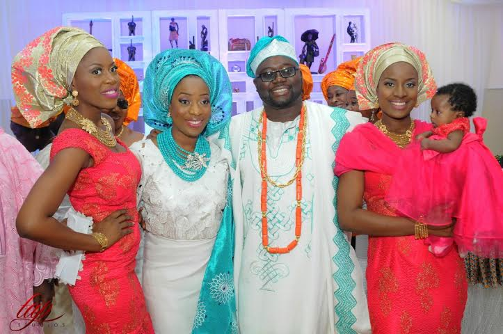 My Big Nigerian Wedding - Sisi Yemmie and Yomi Loveweddingsng100