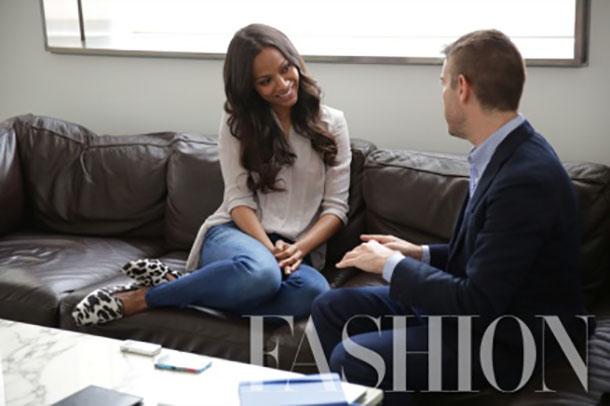 Zoe Saldana Fashion Magazine Cover Loveweddingsng2