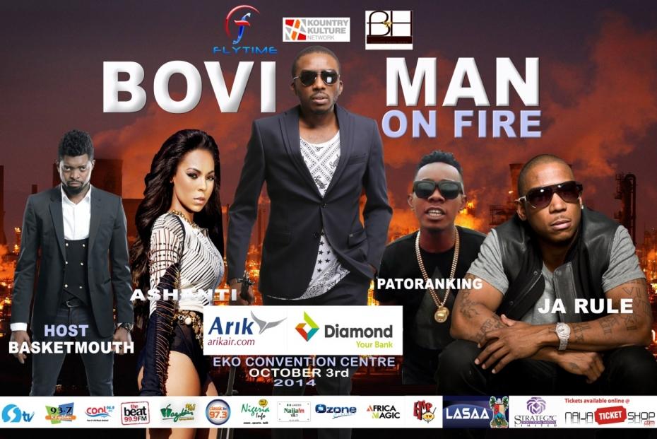 Bovi Man on Fire Loveweddingsng