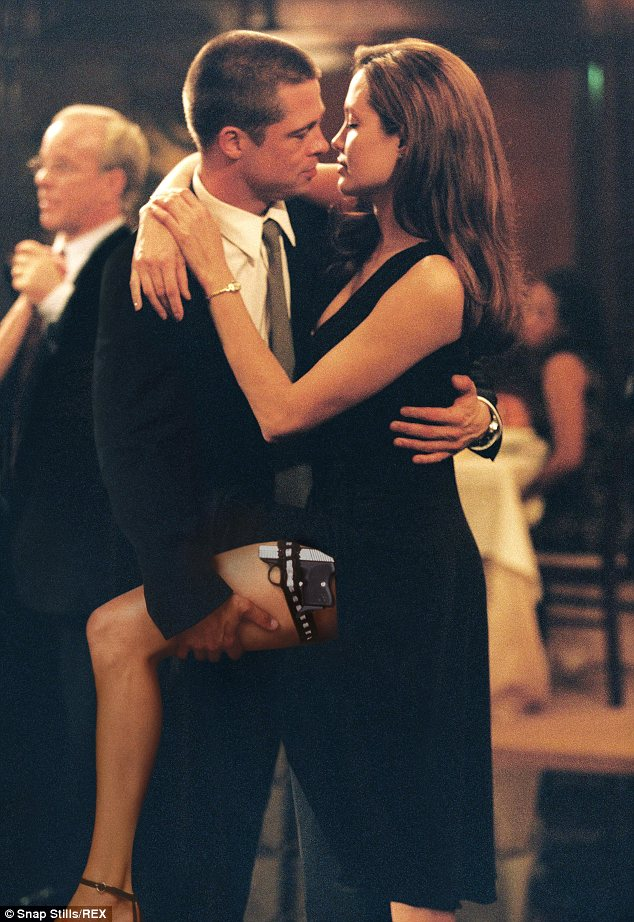Brad Pitt Angelina Jolie Mr and Mrs Smith Loveweddingsng