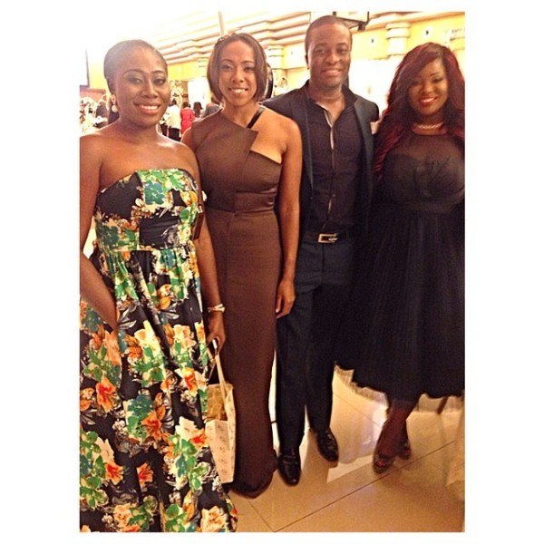 Dr Sid Simi Osomo White Wedding Loveweddingsng - Gbemi Olateru-Olagbegi, Fade Ogunro, Tunde Demuren, Toolz