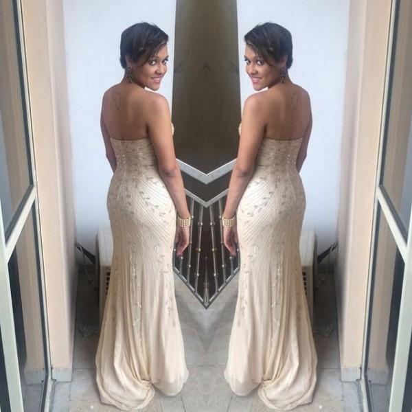 Dr Sid Simi Osomo White Wedding Loveweddingsng - Tania Omotayo