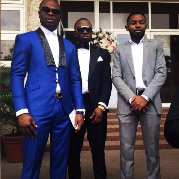 Dr Sid Simi Osomo White Wedding Loveweddingsng - Tobi, Ice Prince