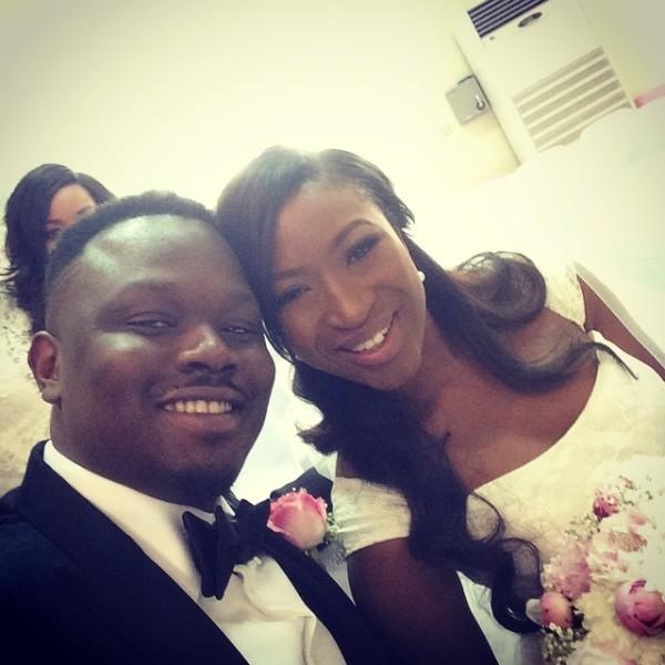 Dr Sid Simi Osomo White Wedding Loveweddingsng5