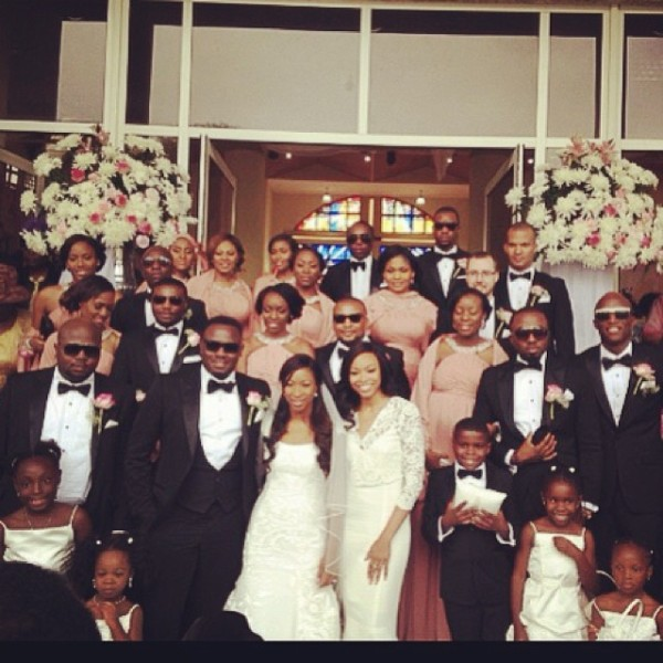 Dr Sid Simi Osomo White Wedding Loveweddingsng6