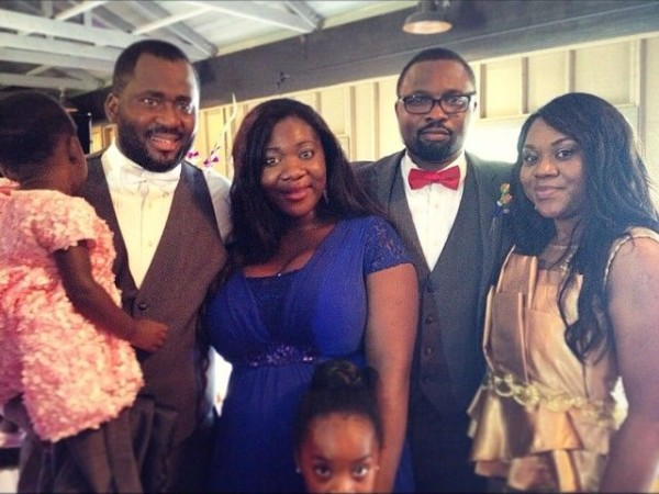 Robert Peters Wedding - Stella Damasus, Daniel Ademinokan, Mercy Johnson, Desmond Elliot