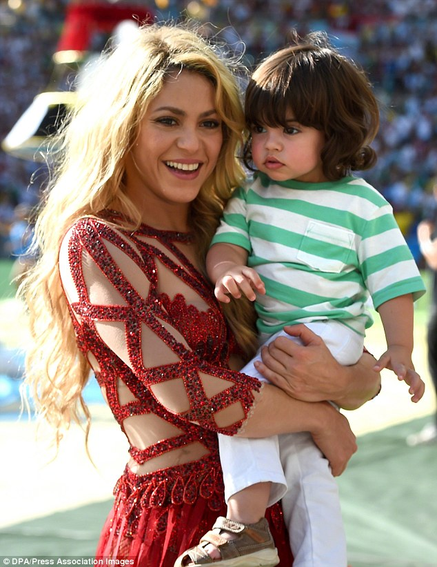 Shakira and Gerard Pique Baby Milan Loveweddingsng