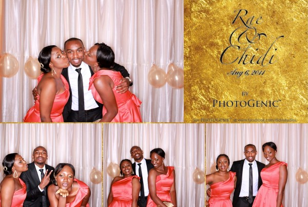 The Photogenic Photobooth Rae and Chidi