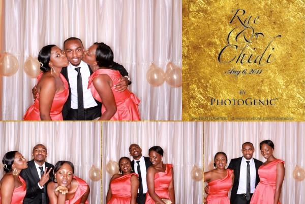 The Photogenic Photobooth Rae and Chidi