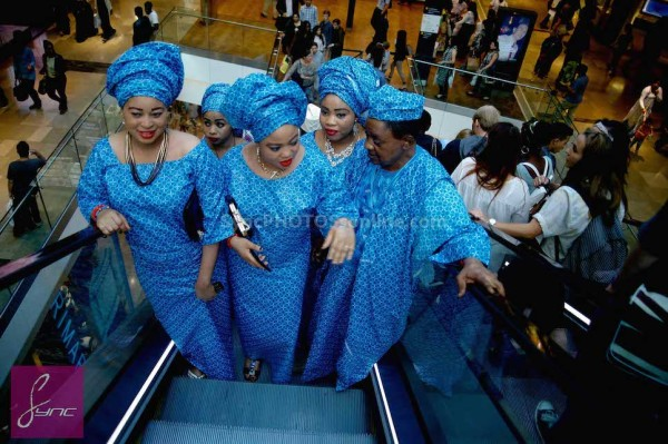 Alaafin of Oyo and Four Wives in London Loveweddingsng1