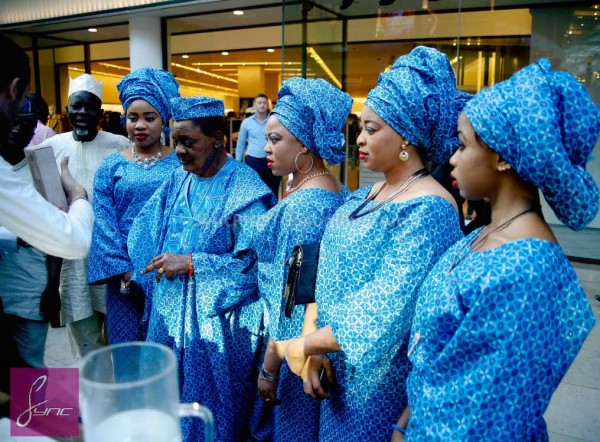 Alaafin of Oyo and Four Wives in London Loveweddingsng4