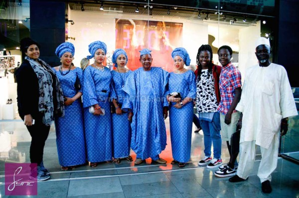 Alaafin of Oyo and Four Wives in London Loveweddingsng9
