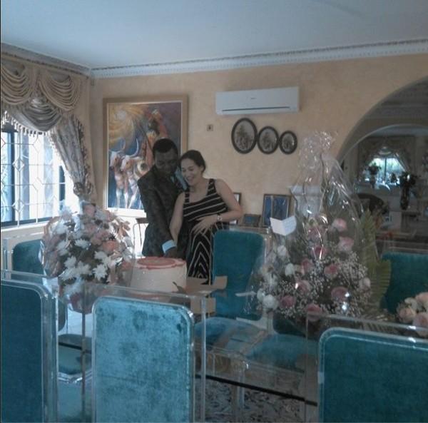 The Danjumas: Caroline and her husband - Musa