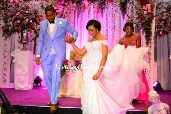 Koko Ita Giwa weds Chimaobi Loveweddingsng - White Wedding12