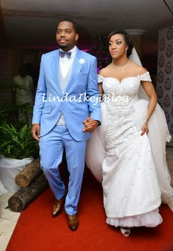 Koko Ita Giwa weds Chimaobi Loveweddingsng - White Wedding2