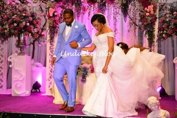 Koko Ita Giwa weds Chimaobi Loveweddingsng - White Wedding7