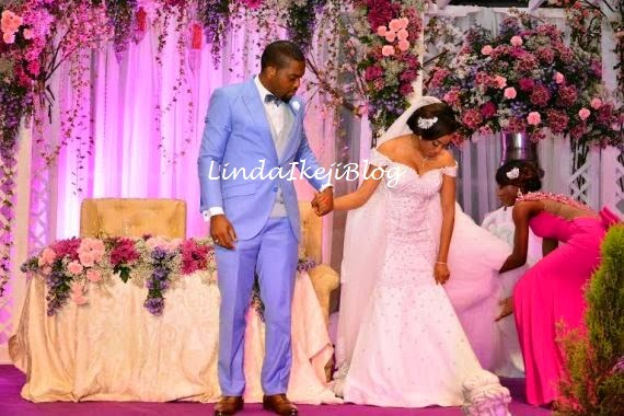Koko Ita Giwa weds Chimaobi Loveweddingsng - White Wedding8