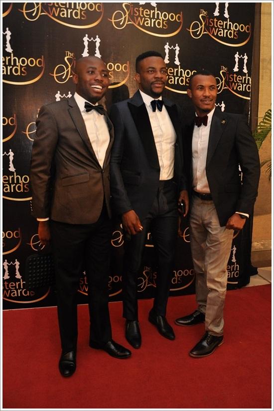 Mo Abudu at 50 - Ebuka Obi-Uchendu, Gideon Okeke & Friend