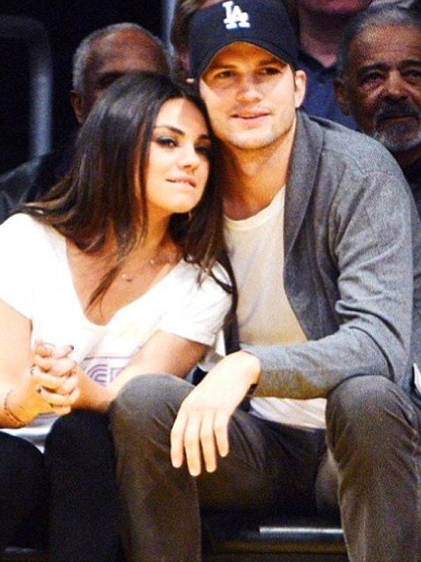 Ashton Kutcher Mila Kunis Loveweddingsng