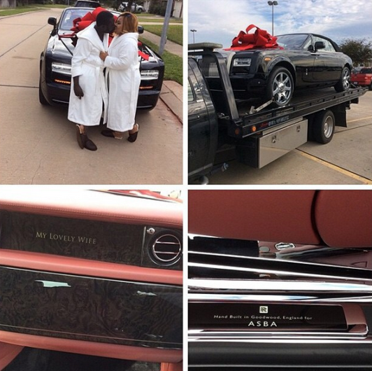 Ayiri Emami Wife Rolls Royce Loveweddingsng3