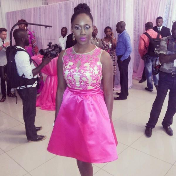 Genevieve Pink Ball 2014 - Ariyike Akinbobola