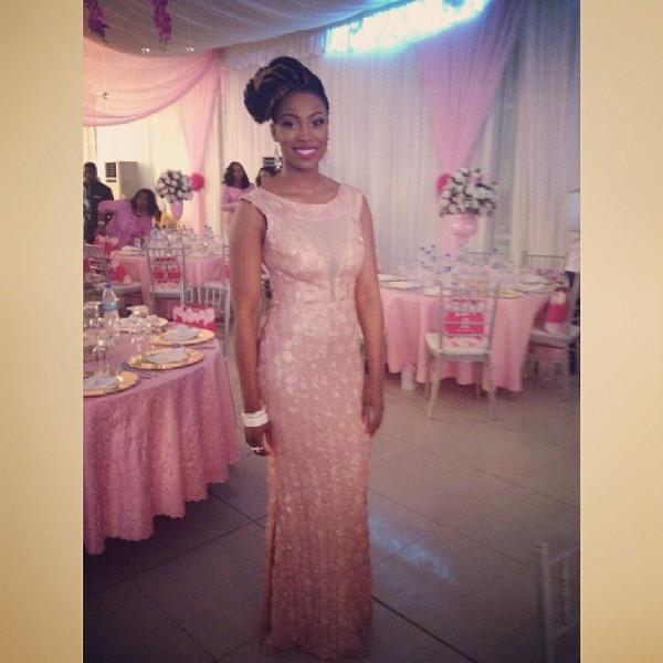 Genevieve Pink Ball 2014 - Bolanle Olukanni