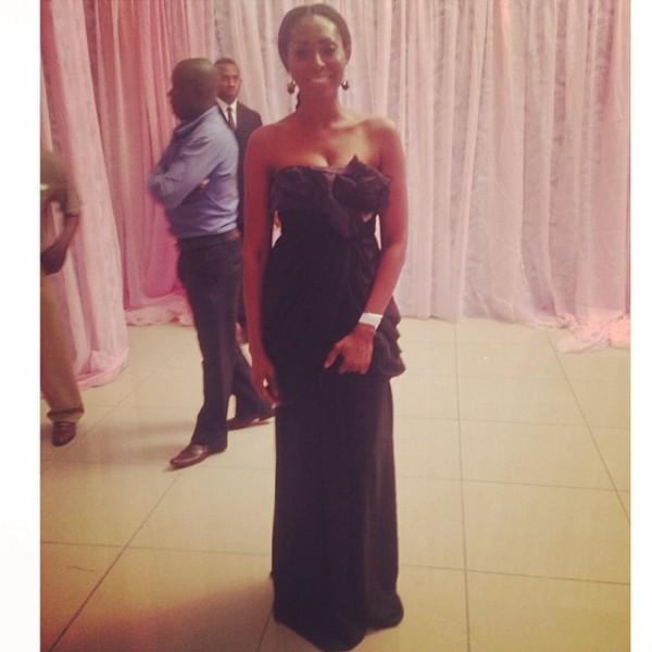 Genevieve Pink Ball 2014 - Bridget Awosika